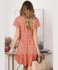 Florales Hippie Kleid